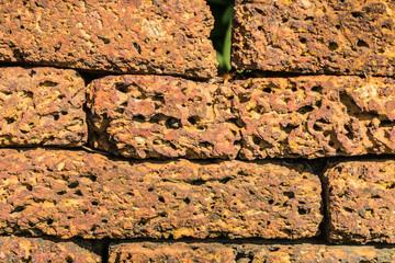 Wall Mural - Weathered nature stone block