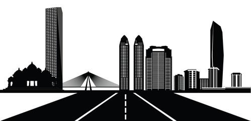 mumbai cisty skyline