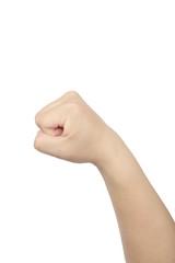 asian man's fist