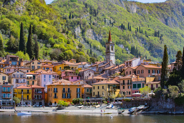 Varenna Village in Lake Como, Italy