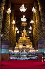 Ancient temples in bangkok, thailand