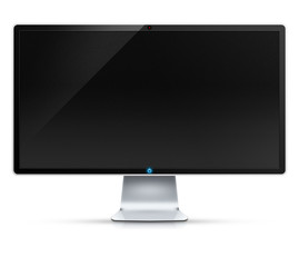 Ilustracja monitora komputera