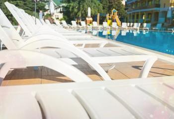 Pool, resort, outdoor.