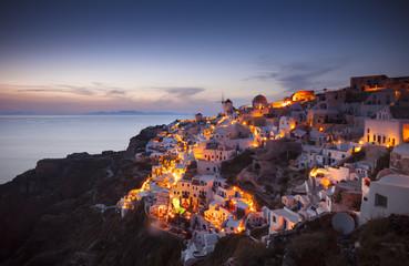 Greece Santorini Sunset