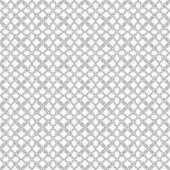 Monochrome seamless pattern in oriental style - variation 2