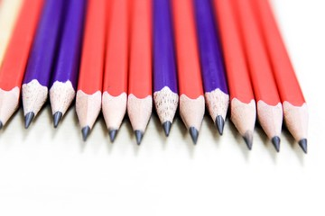 Pencil isolate on white background