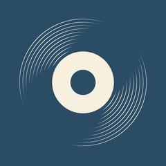 Vinyl record, lp record symbol