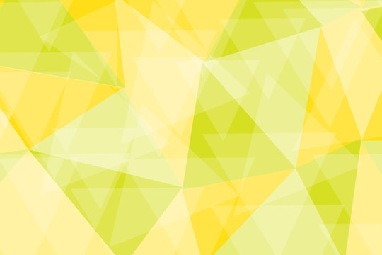 green yellow poly background