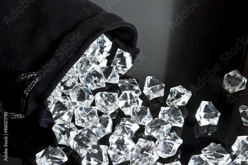 quotbag of diamondsquot stock photo and royaltyfree images on