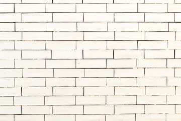 Brick wall painted white, Background