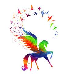 Pegasus concept of inspiration