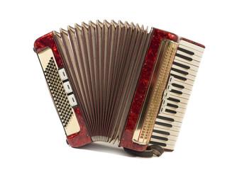 schönes altes akkordeon, schifferklavier, ziehharmonika