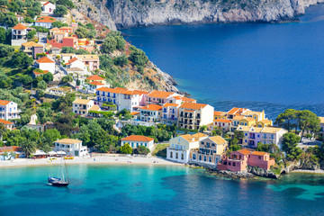 Assos village, Kefalonia island, Greece