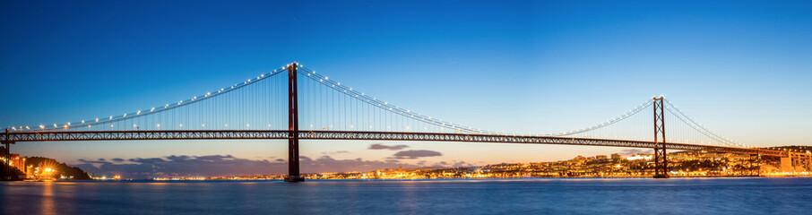 Lisbon Bridge Panorama