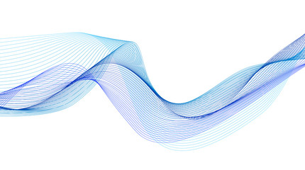 In de dag Abstract wave abstract flowing water wave vector background design element