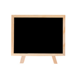 small blackboard isolated