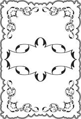 Art ornament fine frame