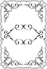 Retro scroll frame