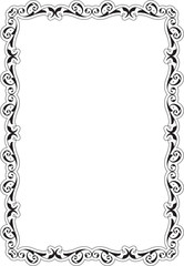 Baroque Greeting Art Frame