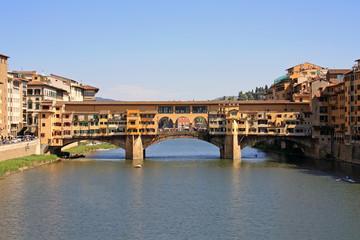 Ponte Vecchio bridge in Florence