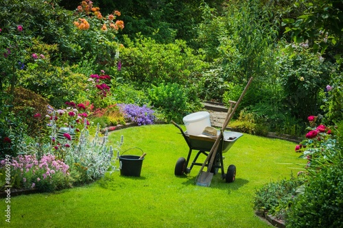 Wunderbar Gartenarbeit, Gartenwerkzeug, Schöner Garten