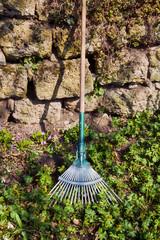 Rake gardening tool