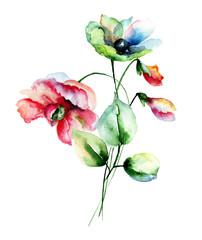 Decorative spring flowers