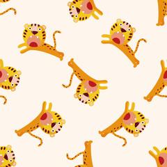 animal tiger cartoon , cartoon sticker icon