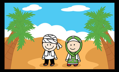 Moslem and Moslemah