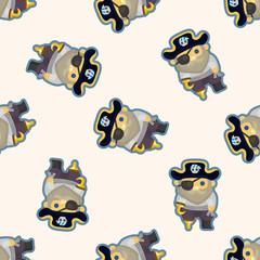 pirate ,seamless pattern