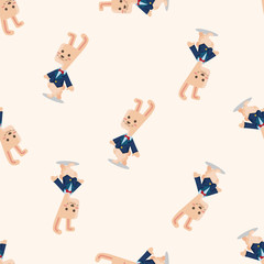 alice in wonderland ,seamless pattern