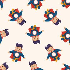 superman ,seamless pattern