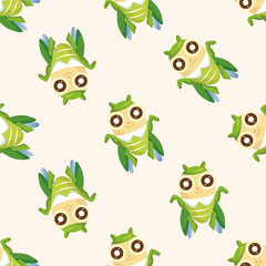 bug cartoon ,seamless pattern
