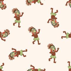 Aborigines ,seamless pattern
