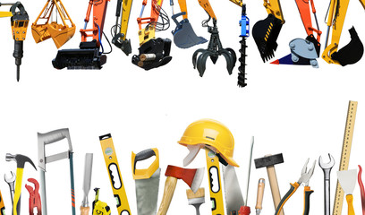 Construction machines and tools, engineering and construction