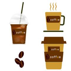 コーヒー、珈琲、カフェ、豆、コーヒー豆、アイス、ホット、