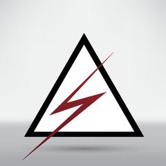 Lightning arrow icon