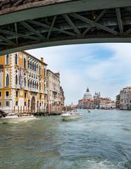 Cityscape of the Grand Canal, Venice,Veneto Region, Italy