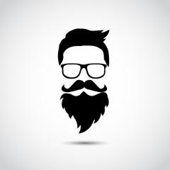 Retro gentleman. Vector illustration.