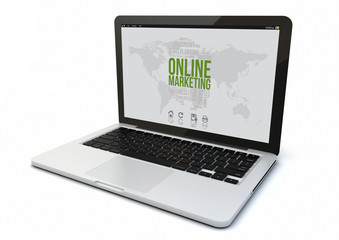 laptop online marketing