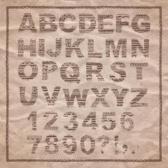 Alphabet Ethnic