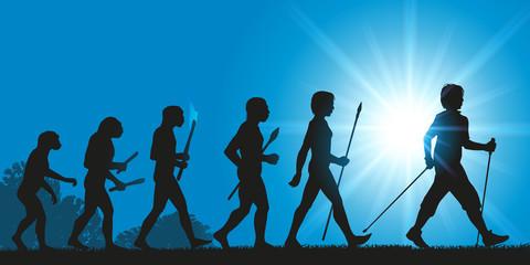 Hommes Evolution Marche