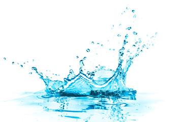 turquoise water splash
