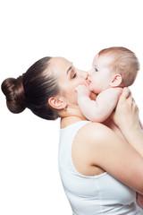 kiss mom