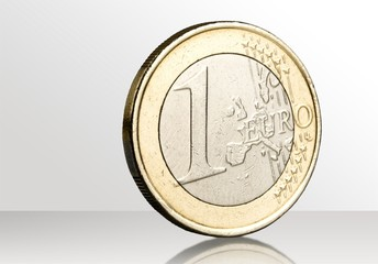 Euro Symbol, Coin, European Union Currency.