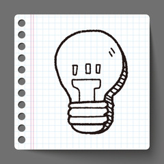 bulb doodle drawing