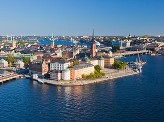 Panorama View of Stockholm Old City, Sweden