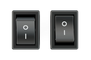 two black switches
