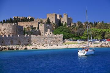 Keuken foto achterwand Tunesië Rhodos Island, Greece - the medieval Grand Master Palace
