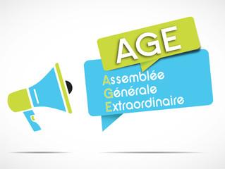 mégaphone : AGE